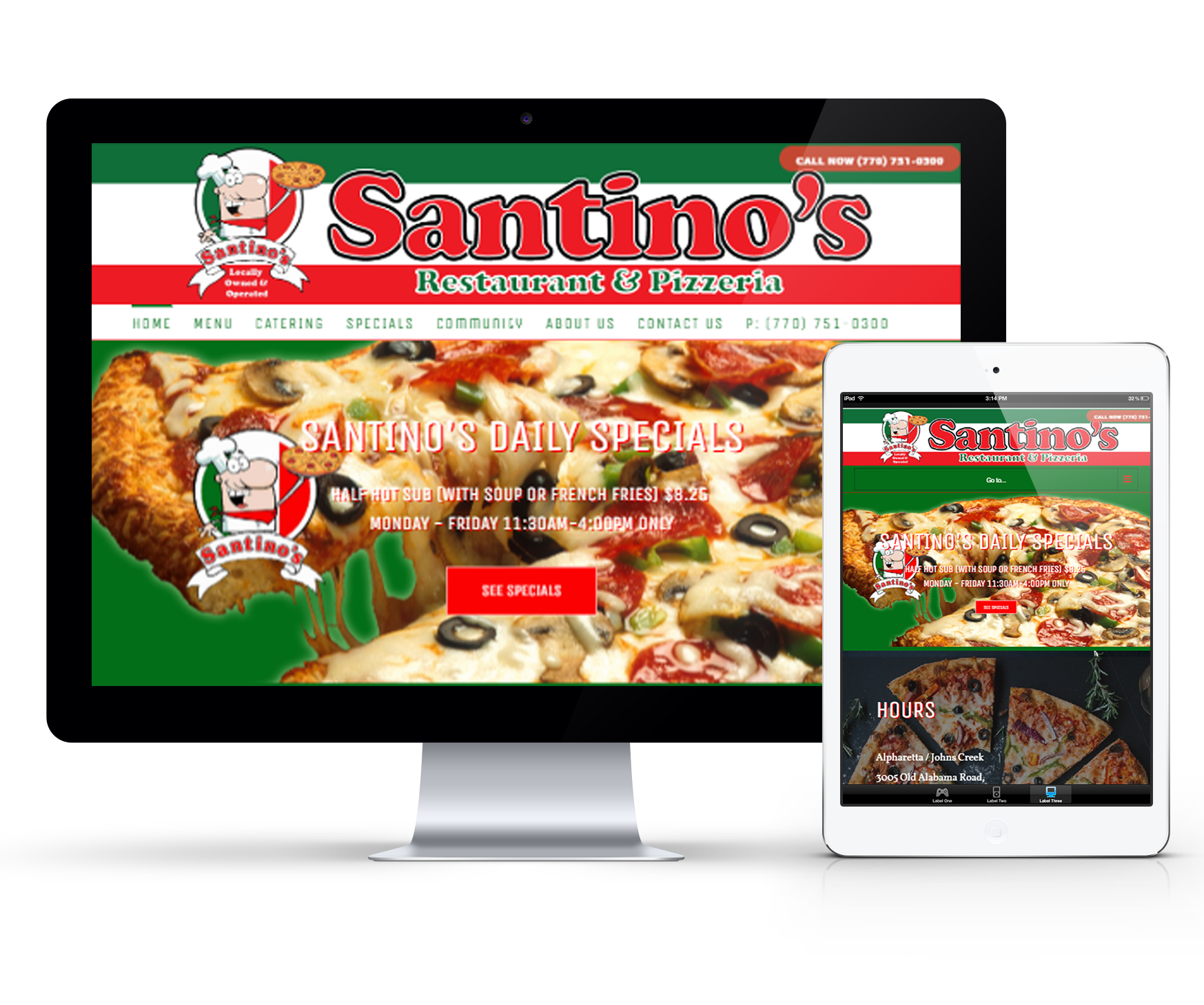 Santinos Italian Restaurant