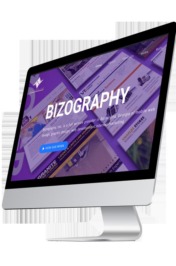 Bizography Web Design Serivices
